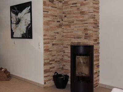 Kamin Wandgestaltung Bemerkenswert On Andere In Modern Wand Hinter Kaminofen Gestalten Ideen 9