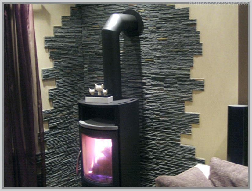 Kamin Wandgestaltung Einfach On Andere In Bezug Auf Schone Wohndekoration Wand Hinter Ofen 1