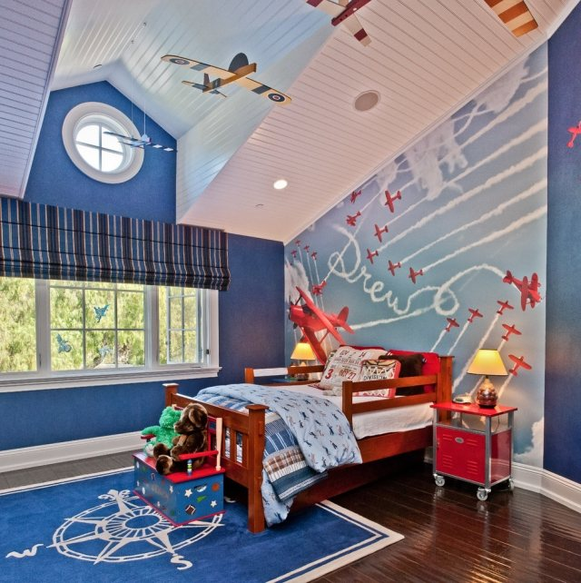 Kinderzimmer Flugzeug Glänzend On Andere Innerhalb Fur KogBox Com Schema 1