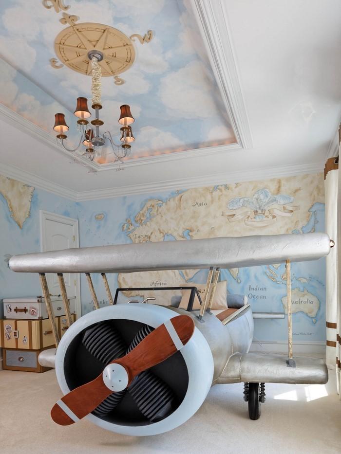 Kinderzimmer Flugzeug Interessant On Andere Innerhalb Amüsant Designs Auch 5