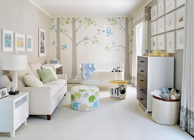 Kinderzimmer Gestalten Ideen Imposing On Beabsichtigt Babyzimmer 70 Für Deko 1