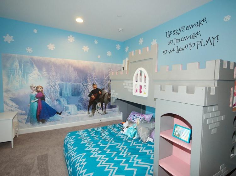 Kinderzimmer Gestalten Ideen Nett On überall 14 Für Das Eiskönigin Mottozimmer 3