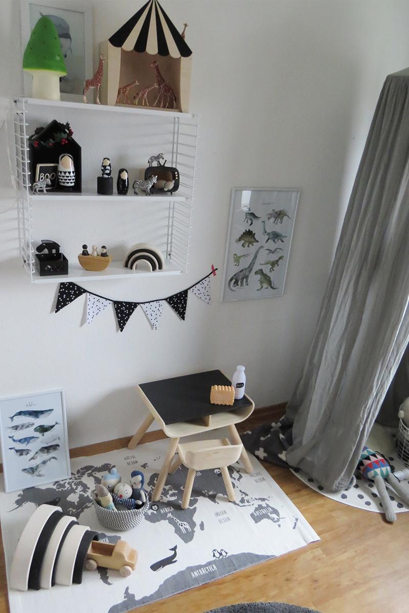 Kinderzimmer In Grau Beeindruckend On Andere Beabsichtigt Uncategorized Kühles Und 7