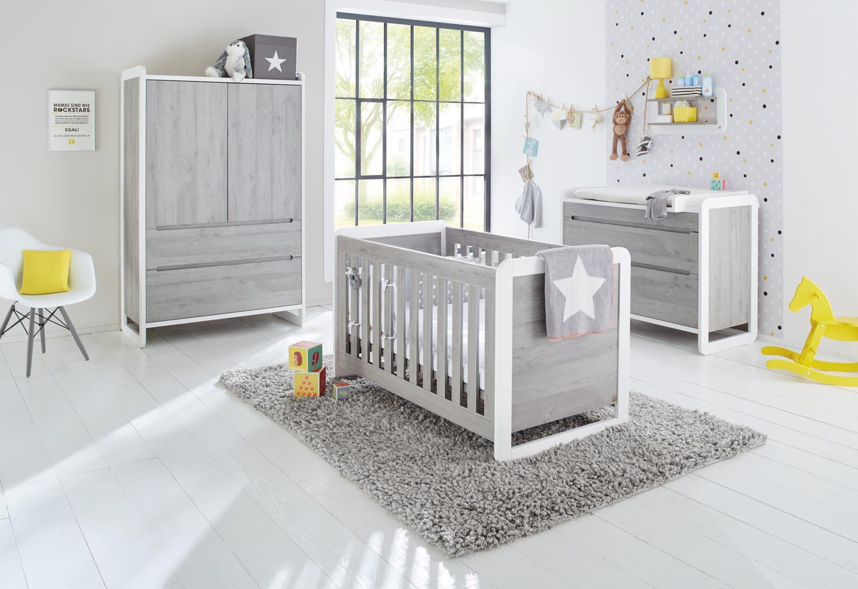 Kinderzimmer In Grau Beeindruckend On Andere Innerhalb Pinolino Curve Babyzimmer Esche Möbel Letz Ihr Online Shop 2