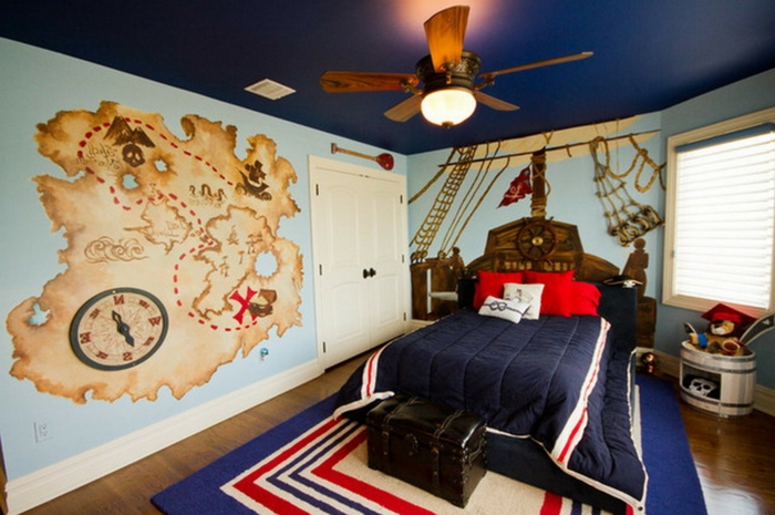 Kinderzimmer Modern On Andere In 1001 Ideen Für Piraten Zum Entnehmen 8