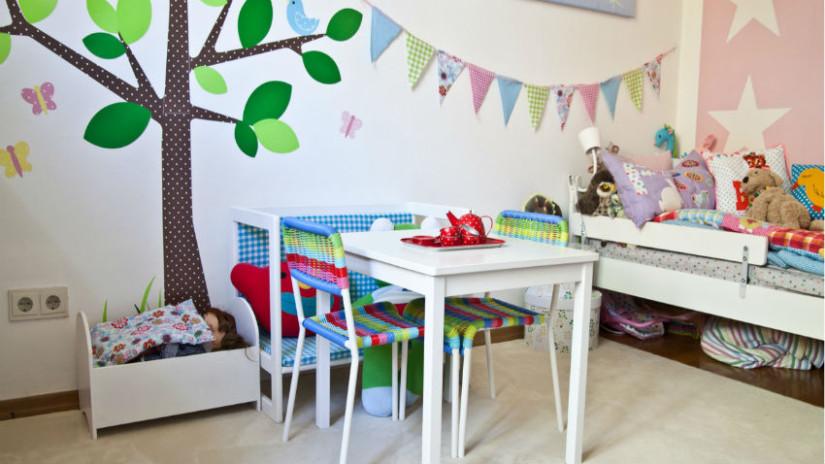Kinderzimmer Stilvoll On Andere Innerhalb Wandgestaltung Rabatte Bis 70 WESTWING 7