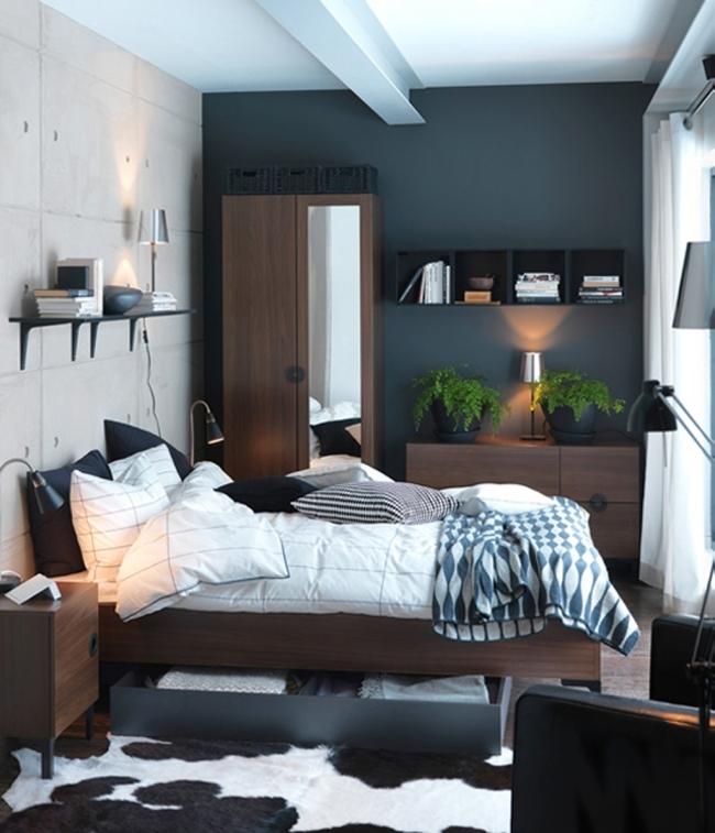 Kleines Schlafzimmer Einfach On Für Lovely Gestalten 7