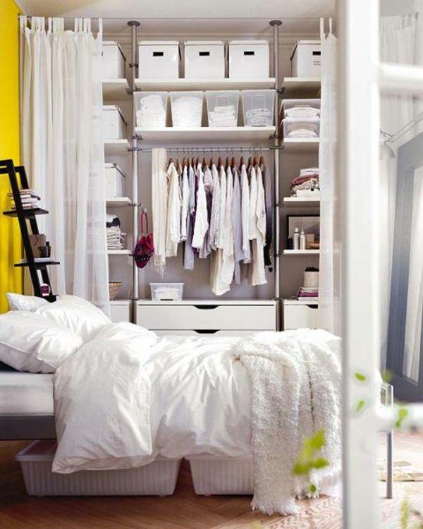 Kleines Schlafzimmer Glänzend On In Die Besten 25 Kleine Ideen Auf Pinterest Winziges 8