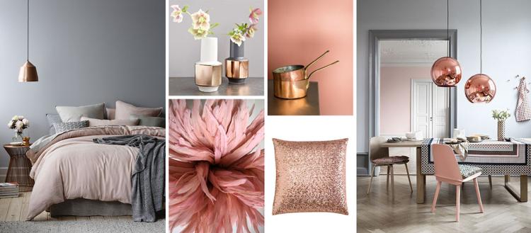 Kombination Farbe Mit Grau Schön On Andere In Puderrosa Richtig Kombinieren Ideen Zum Wohnen Und Stylen 8