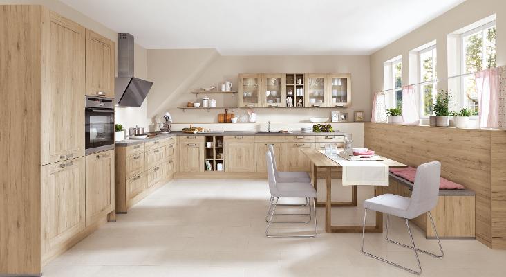 Küche Eiche Hell Modern Beeindruckend On Innerhalb Kuche Fesselnd Elite Beranda 9