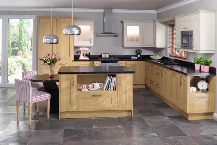 Küche Eiche Hell Modern Einfach On Für 41 Moderne Küchen In Helles Holz Liegt Im Trend Zum Lustig 1