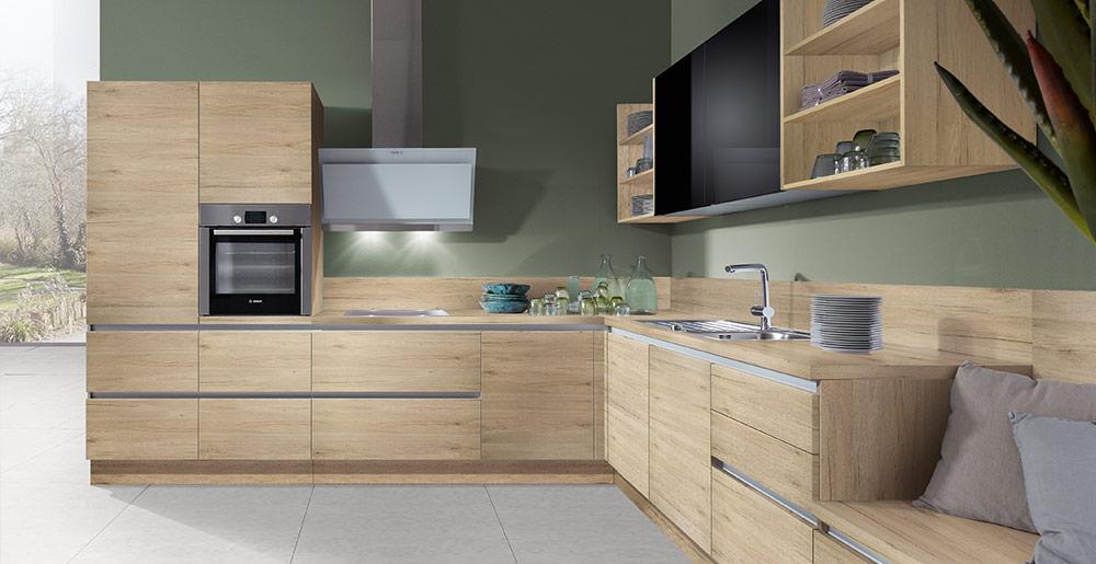 Küche Eiche Hell Modern Frisch On Beabsichtigt Kuchen Für Kuche M Obratano Com 5