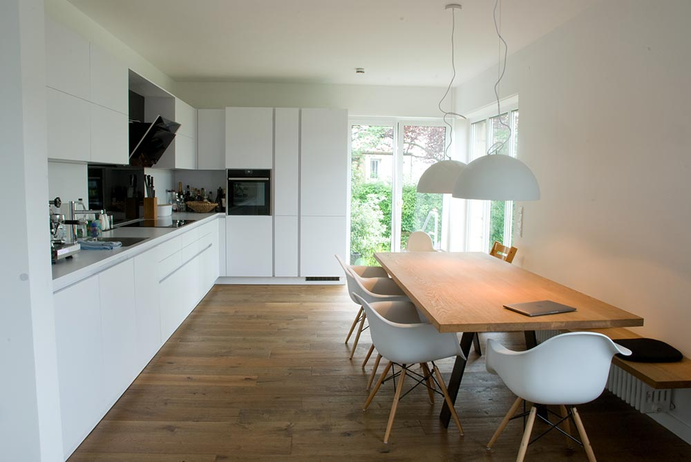 Küche Mit Esstisch Großartig On Andere In Und Bank 4
