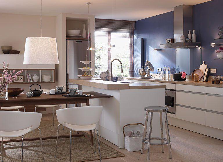 Küche Mit Esstisch Schön On Andere Für Dunkler Wandfarbe Streichen 15 Profitipps Vorsicht Bei 9