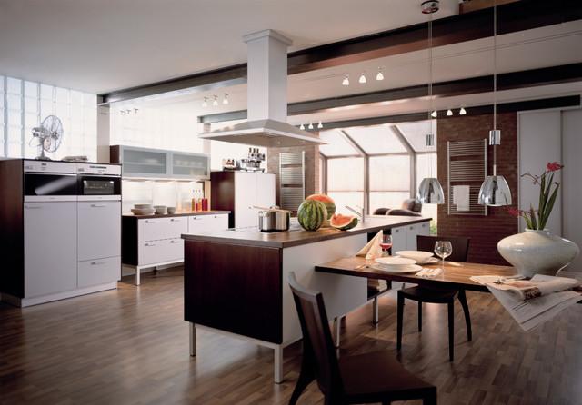 Küche Mit Esstisch Stilvoll On Andere Für Oligo Gatsby Offene Modern München 5