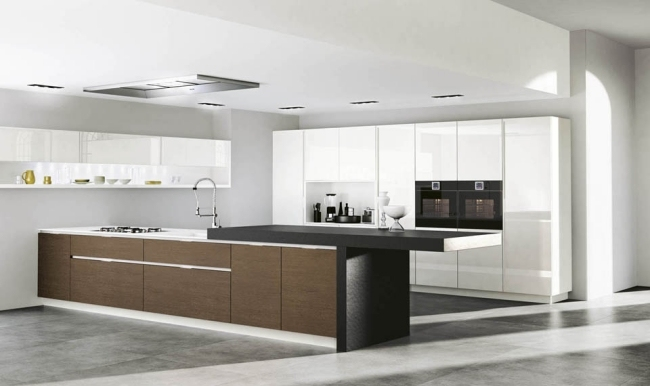Küche Modern Bescheiden On In Bezug Auf Vibrant Moderne Kuche Kuchen Design Kueche Kuchyne Island 6