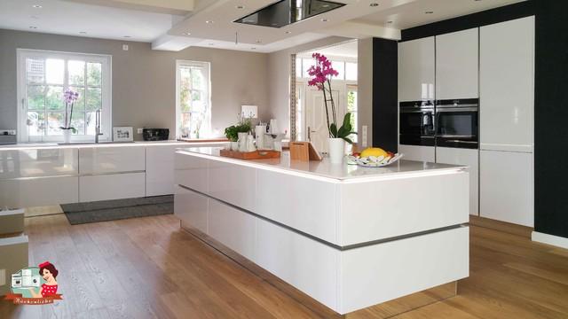 Küche Modern Nett On Beabsichtigt Um Die Große Insel Ist Immer Noch Viel Platz Vorhanden 8