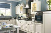 Küche Wandfarbe Blau