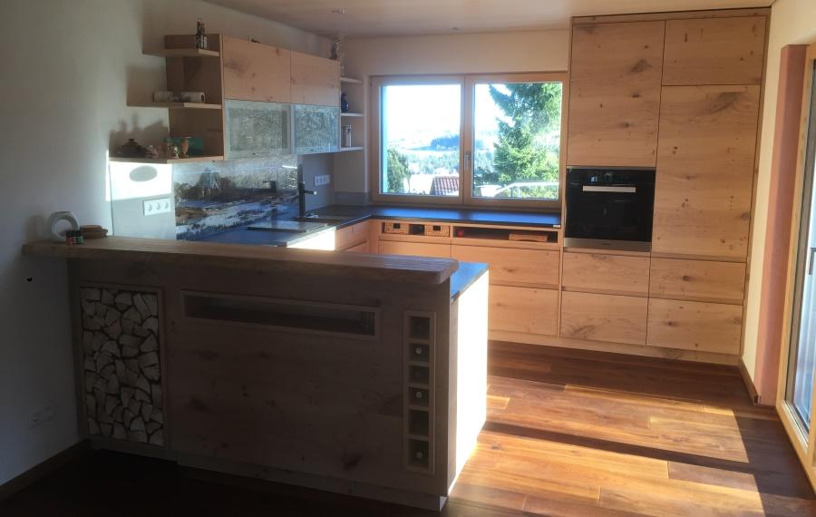 Küche Wildeiche Einfach On Andere In Bezug Auf Küchen 3s Möbel 5