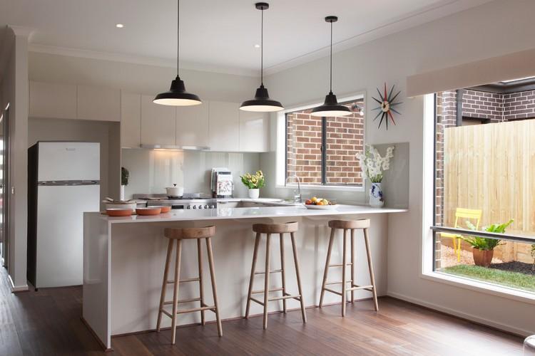 Küchen Halbinsel Form Exquisit On Andere überall Küche Kuche U Weiss Grifflos Holz Barhocker 2