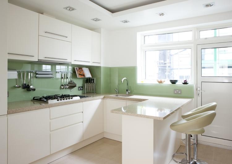Küchen Halbinsel Form Perfekt On Andere In Bezug Auf Superb Kuche Wandgestaltung Style Lounge Es Ist Wie Kueche L 8