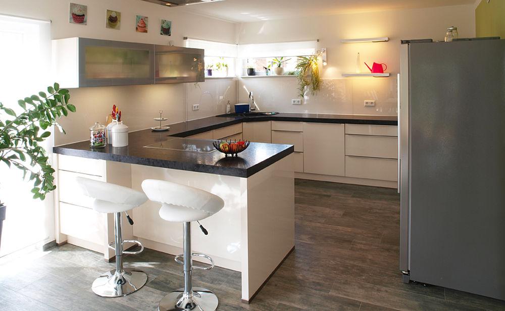 Küchen Halbinsel Form Unglaublich On Andere In G Küche Info 3