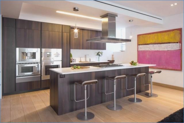 Küchen Holz Modern Mit Kochinsel Imposing On überall Kuchen Bhima Co 2