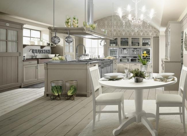 Küchen Weiss Landhausstil Modern Charmant On Beabsichtigt Haus Möbel Küche Landhaus Weiß Kuche Holz Kchen 7