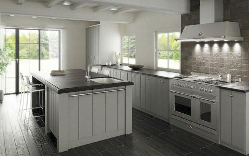 Küchen Weiss Landhausstil Modern Fein On Beabsichtigt Kuchen Für Mit Www Sieuthigoi Com 1