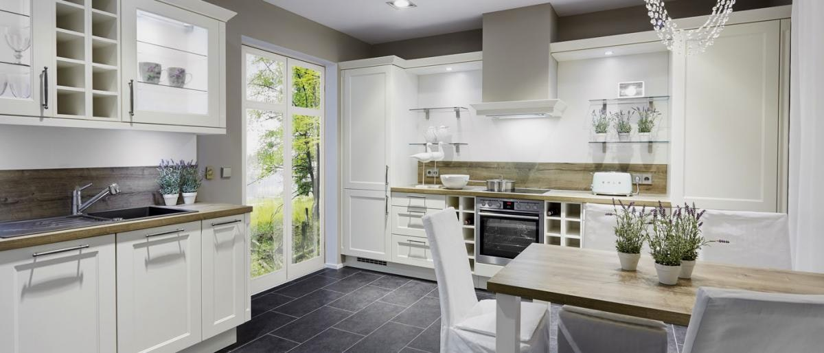 Küchen Weiss Landhausstil Modern Wunderbar On Für Beste Küche Landhaus Landhauskueche 2382 Hausumbau Planen 5