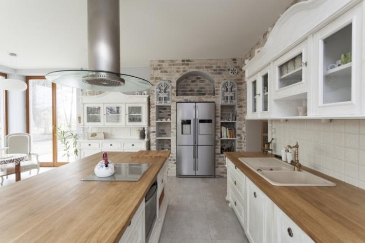 Küchen Weiss Landhausstil Modern Zeitgenössisch On Beabsichtigt Stupefying Kuche Designs Mit 3