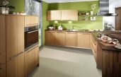 L Küche Holz