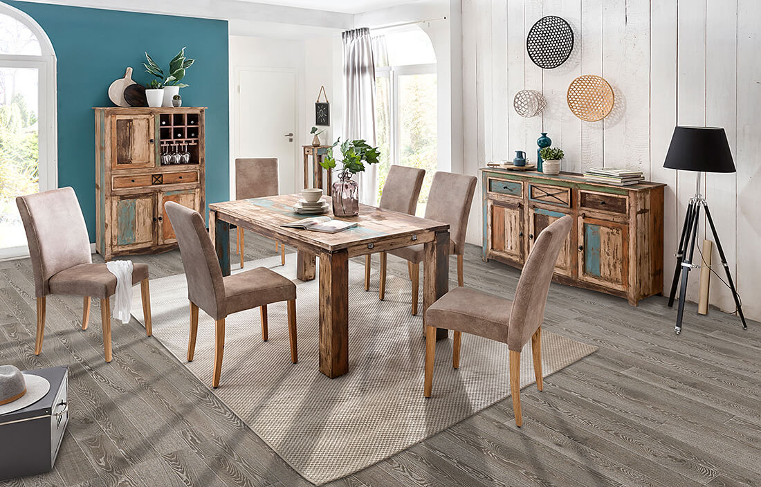 Laminat Eßzimmer Imposing On Andere Für Esszimmer Mit Grauem Eiche Fußboden Holzdielen Oder 9