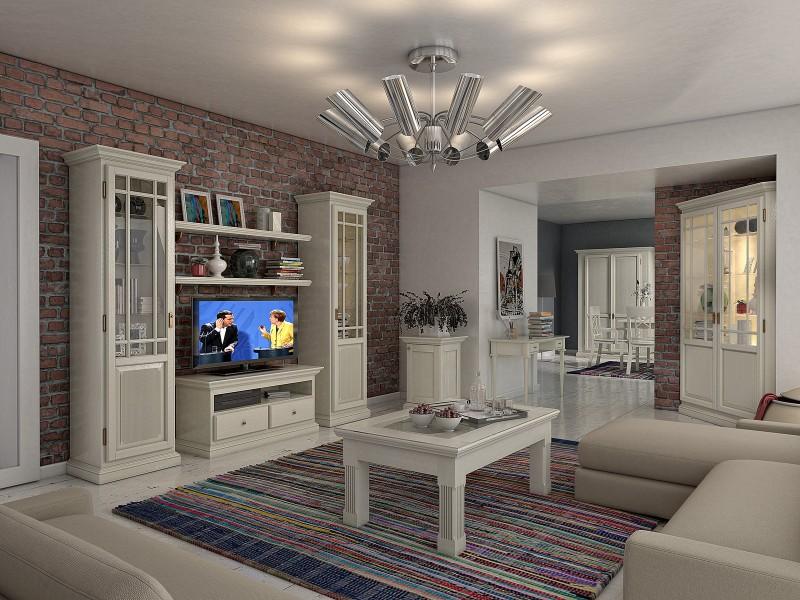 Landhaus Wohnzimmer Bilder Erstaunlich On In Aus Massivholz Mediterranes Wohnen Casamia 3