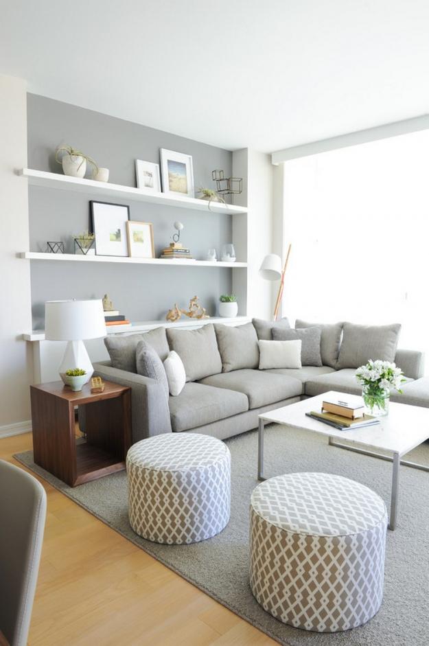Landhaus Wohnzimmer Lila Grau Modern On Für Aufregend Landhausstil Ikea 4