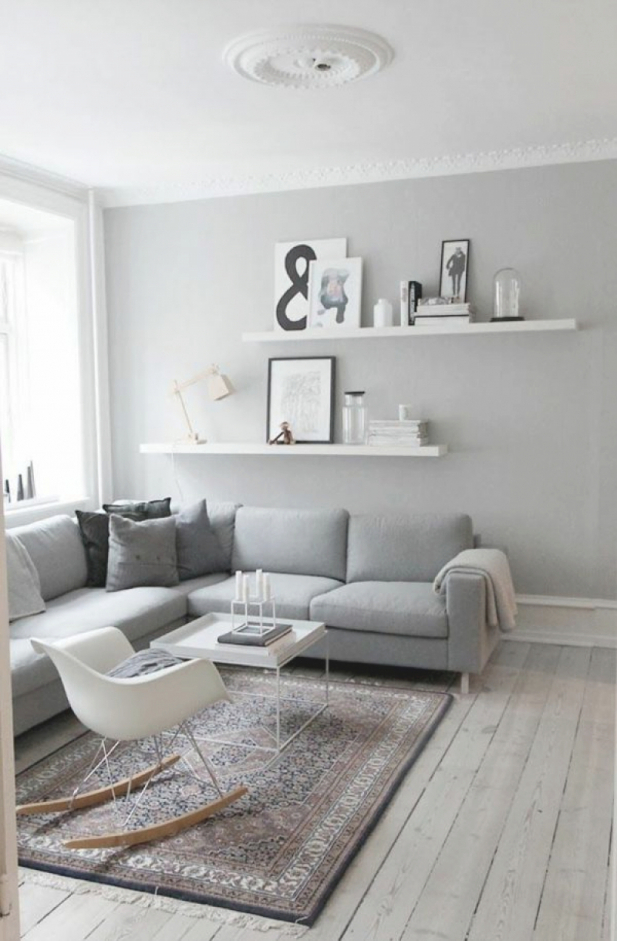 Landhaus Wohnzimmer Lila Grau Schön On Mit Innenarchitektur Platzsparend Idee 7