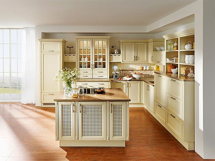 Landhausküche Modern Einzigartig On Für Mit Kücheninsel In L Form 3