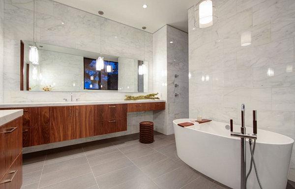 Luxus Badezimmer Ideen Beeindruckend On Auf Mit Einem Klar Definierten Look 6