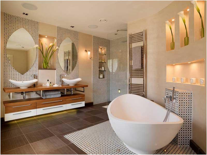 Luxus Badezimmer Ideen Schön On Mit 8 Inspiration Und Bilder 9