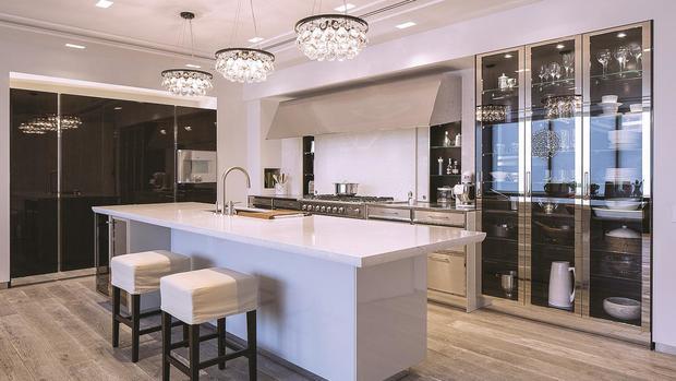 Luxus Küche Stilvoll On Andere überall Kochen Am Designerherd Deutsche Wollen Küchen 3