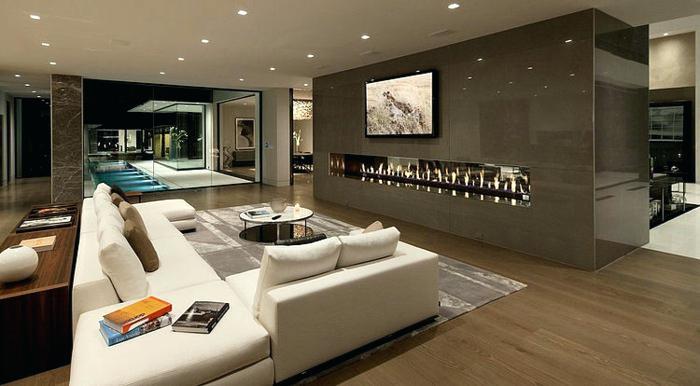 Luxus Wohnzimmer Modern Mit Kamin Beeindruckend On Für Zerotv Info 2