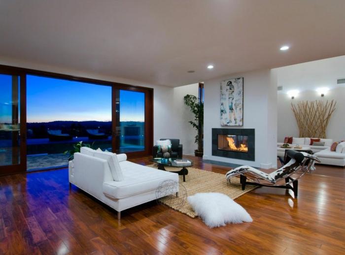 Luxus Wohnzimmer Modern Mit Kamin Einzigartig On Auf Für Wei C3 9Fes Sofa Gl A4serne 8