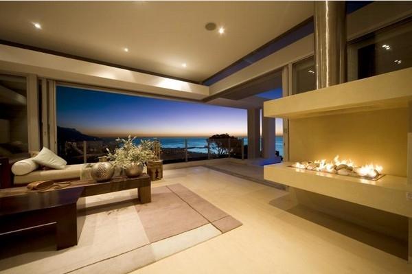 Luxus Wohnzimmer Modern Mit Kamin Imposing On Für Govconip Atemberaubend 6