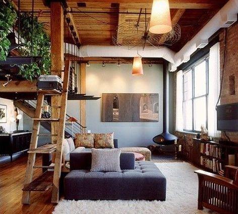 Modern Rustikale Wohnzimmer Mit Kamin Bemerkenswert On Für 60 Rustikal FresHouse 8