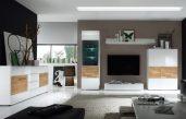 Wohnzimmereinrichtungen Modern Weiss