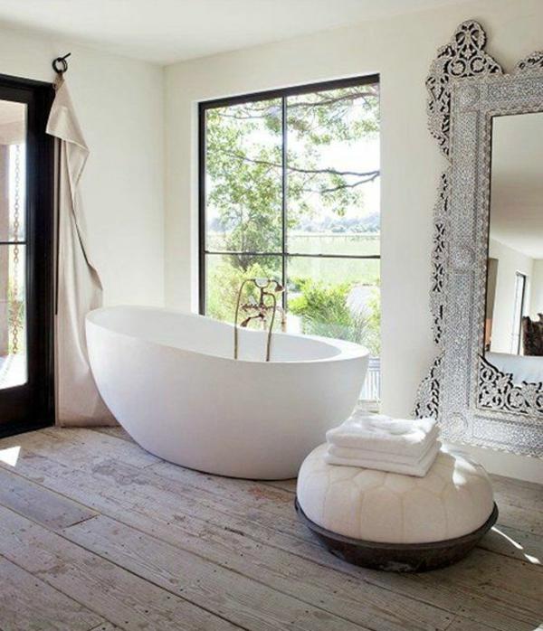 Moderne Bäder Mit Freistehender Wanne Erstaunlich On Modern Freistehende Badewanne Im Modernen Badezimmer 7