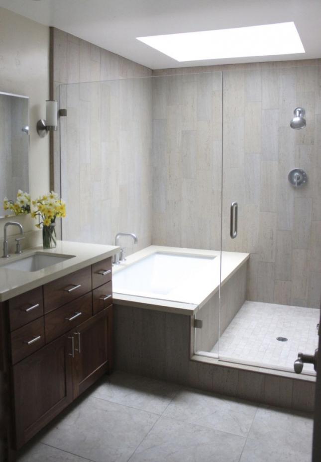 Moderne Badewanne Eingemauert Perfekt On Modern Für Rekord Wohndesign Schönes Dekoration 3