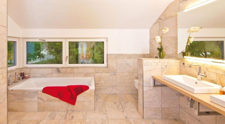 Moderne Badewanne Eingemauert Zeitgenössisch On Modern In Wohndesign 5