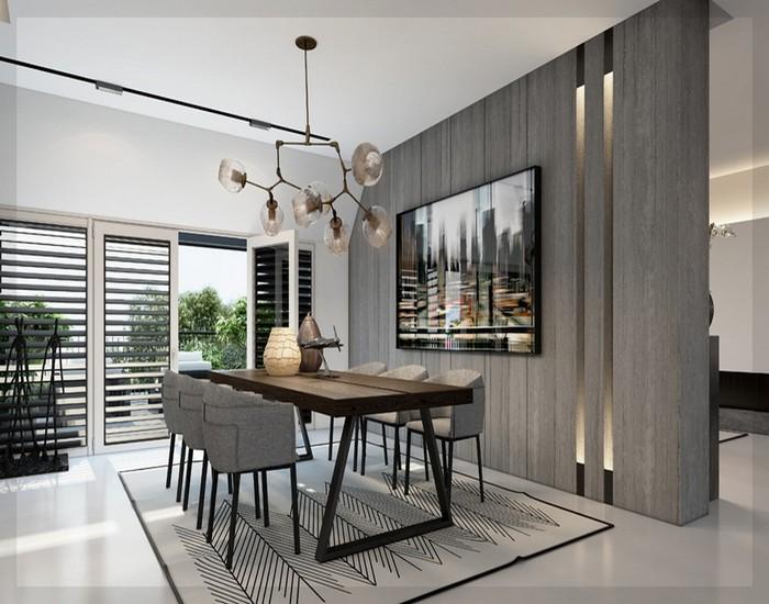 Moderne Esszimmer Großartig On Modern Für Komplett Ideen 04 Haus Design 4