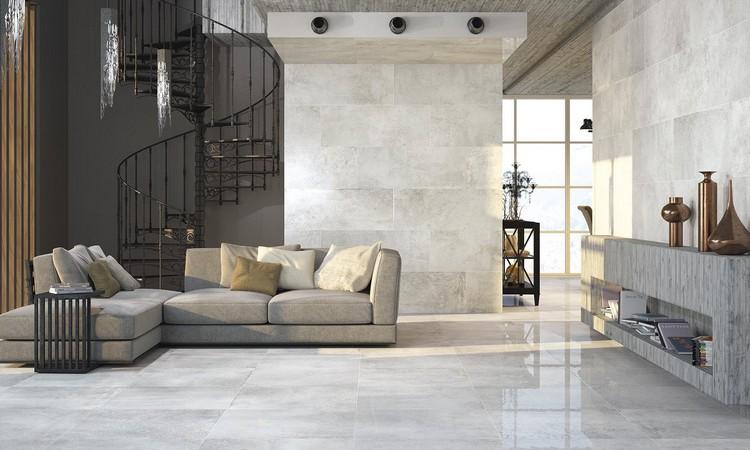 Moderne Fliesen Wohnzimmer